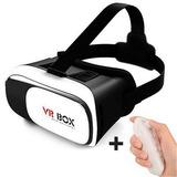 Óculos Virtual Box 2.0 Celular Smartphone + Controle