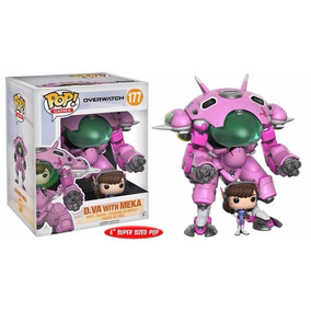 Overwatch Boneco Super Pop Funko D.va E Mini Meka #177