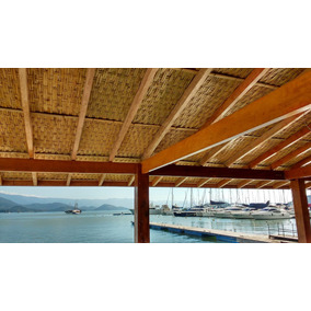 Kit(4m2) Esteira De Bambu P/ Forro, Pergolado, Frete Gratis