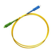 Cordão Óptico Homologado  Sc/apc X Sc/upc 1 Mt 2mm Nfe