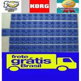 Kit 5 Borrachas Novas Korg Pa-50 / Pa-50sd Frete Grátis ¿