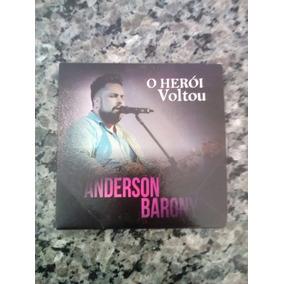 Novo Cd De Anderson Barony, Lançamento 2017, O Herói Voltou