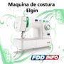 Máquina De Costura Elgin Decora Mais Bordado E Patchwork