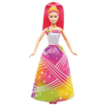 Barbie Princesa Luces Mattel Dpp90