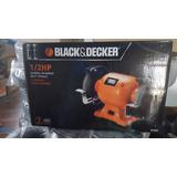 Esmeril De Banco Black & Decker 1/2 Hp Nuevos Originales