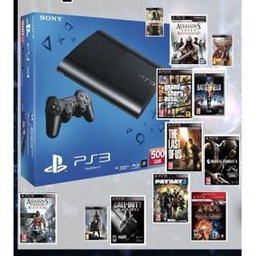 Play 3/ 50juegos/500gb/hdmi De Regalo/consultar!!