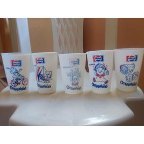 Copos Pepsi Trapalhões Anos 80 Promoção.
