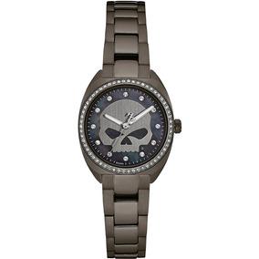 Reloj Harley Davidson By Bulova Original Para Dama 78l124