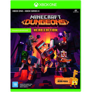 Minecraft Dungeons Hero Edition Xbox One Mídia Físic Lacrado