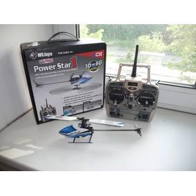 V977 X2 Helicóptero 6ch 3d Brushless - Pronta Entrega - Show