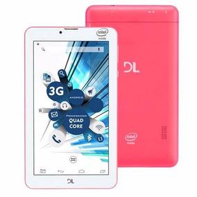 Tablet Dl Tabphone 710 Com Função Celular Dual Chip Novo