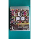 Juego Dj Hero, Playstation 3