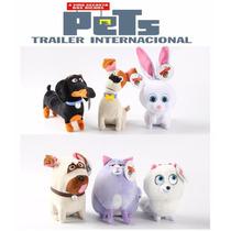 6 Pelucia Coleção Pets Filme - A Vida Secreta Dos Animais