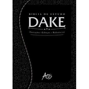 Bíblia De Estudo Dake Dicionário Expandido Capa Trabalhada