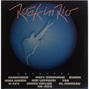 Disco Vinil Rock In Rio - Ano 1984