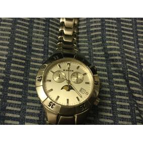 Edox Fase Lunar Cronometro Cuarzo Suizo
