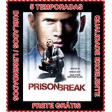 Serie Prison Break 1ª Até 5ª Temporada + Filme Resgate Final
