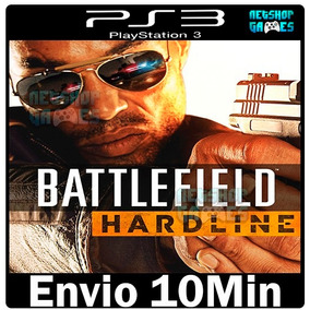 Battlefield Hardline Original Ps3 Codigo Psn ( Pre Venda )