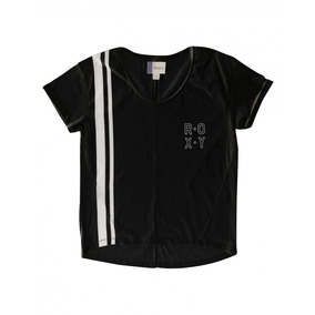 Remera Para Mujer Roxy Electric Feel B #38202014