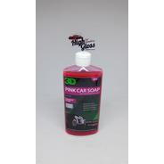 3d Pink Car Soap Shampoo Ph Neutro - 500ml  Highgloss