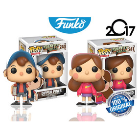 Set 2 Dipper Pines Mabel Pines Pop Caricatura Gravity Falls