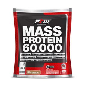 Massa Protein 3kg - Hipercalórico Sabores Ftw®