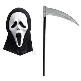 Máscara Panico Foice Terror Halloween Festa Fantasia