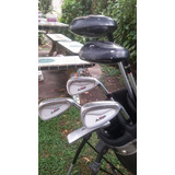 Set Palos De Golf Amf Jr Silver Series 9,12 + Bolso