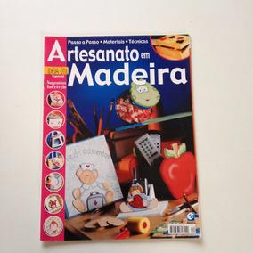 Revista Artesanato Em Madeira Tampa Para Baleiro Caixa N°12