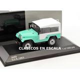 Jeep Cj-5 1963 Igual Al Jeep Ika Argentino- T White Box 1/43