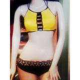 Trajes De Baño Trending Bikini Tanga Semihilo Semicachetero