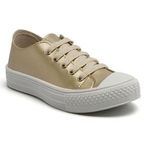 564cbcab19b Tênis Blitzz Star Coruja Jeans 610 21568z por Calçados Online. São Paulo ·  Tênis Looshoes Kids Converse Dourado 804-40