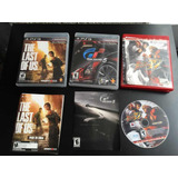 3 Juegos Originales Play 3 Street Fighter 4 Gt 5 Last Of Us