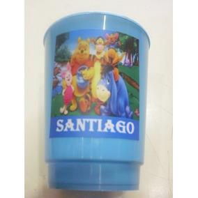 Vasos Plasticos Personalizados Winnie Pooh Cumpleaños 10u