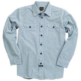 Camisa Masculino Troy Lee Clutch Azul Marinho