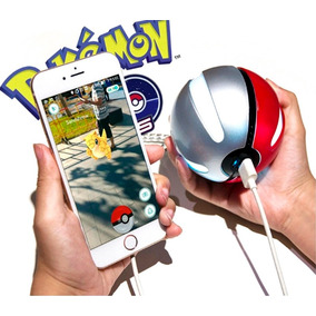 Pokemon Go Pokebola Pila Recargable Power Bank