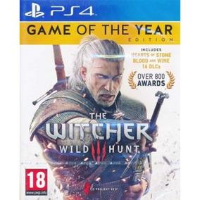 Jogo The Witcher Edição Completa Ps4