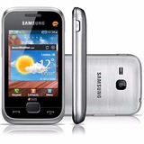 Samsung C3312 Duos Desb. Prata 1.3mp Fm E Mp3 I Vitrine