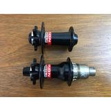 Par De Cubos Novatec 15mm 12x142mm Xd Shimano 28 | 32 Furos