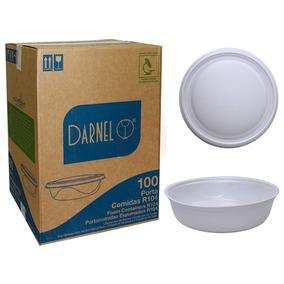Marmitex Darnel Isopor N9 R104 1200 100 Unidades