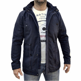 Campera Parka Gabardina Militar Abrigo Hombre The Big Shop
