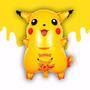 Pikachu Balão Metalizado Pokemon 20 Balões Festa Atacado