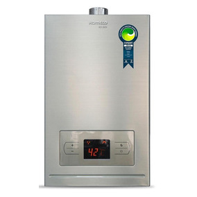 Aquecedor-a-gás-20 Litros-glp-komeco-digital-inox