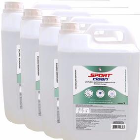 Limpador Bactericida E Fungistático Sport Clean 20 Litros