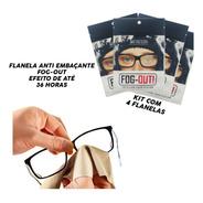 *promo* Kit 4 Flanelas Antiembaçante Óculos, Viseira