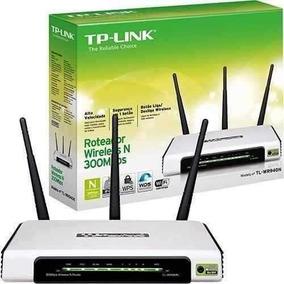 Router Inalambrico Tp-link 300mbps Tl-wr940n De 3 Antenas