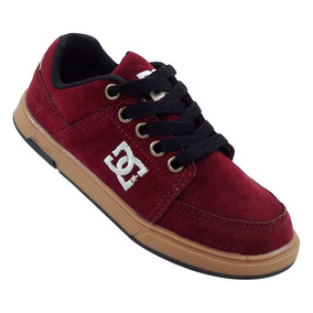 Tênis Infantil Dc Shoes Bordô