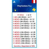 Playstation ® Plus Perú   Ofertas 2017 - Compra Seguro!!!