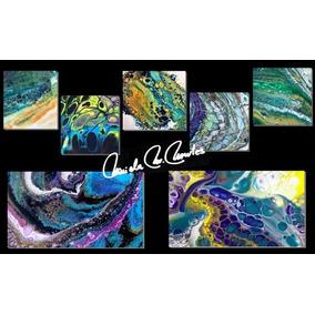 Cuadros Oleo -acrílico Catalogo 58 Pouring Arte Fluido