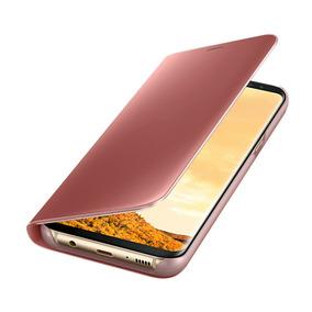 Funda Samsung Clear View Standing Rosa Para Galaxy S8 Plus